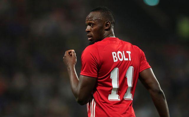 Usain Bolt va tenter de lancer sa carrière de footballeur en Australie. [Gonzalo Fuentes - Reuters]