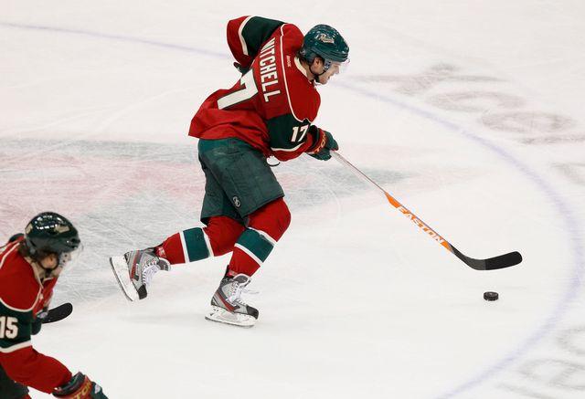 Torrey Mitchell a notamment porté les couleurs de Minnesota et Montréal en NHL. [Genevieve Ross - Keystone]