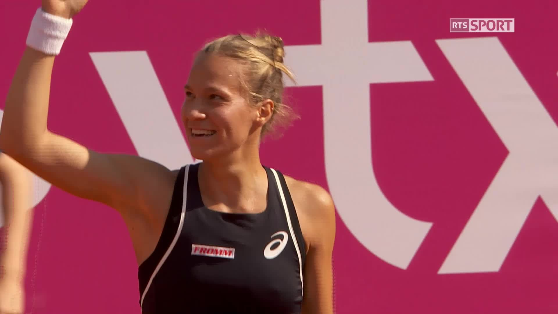 Tennis : Bacsinszky chute au classement WTA