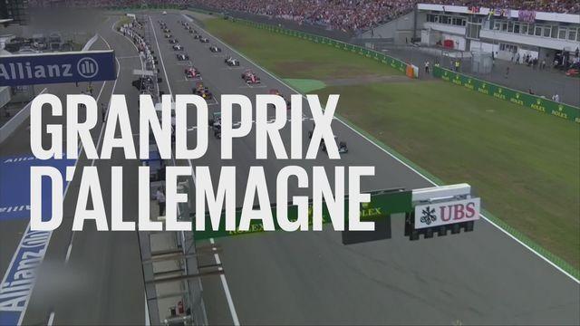 Bande-annonce: Automobilisme F1 Grand Prix d'Allemagne (essais-course) du 21.07-22.07.2018 [RTS]