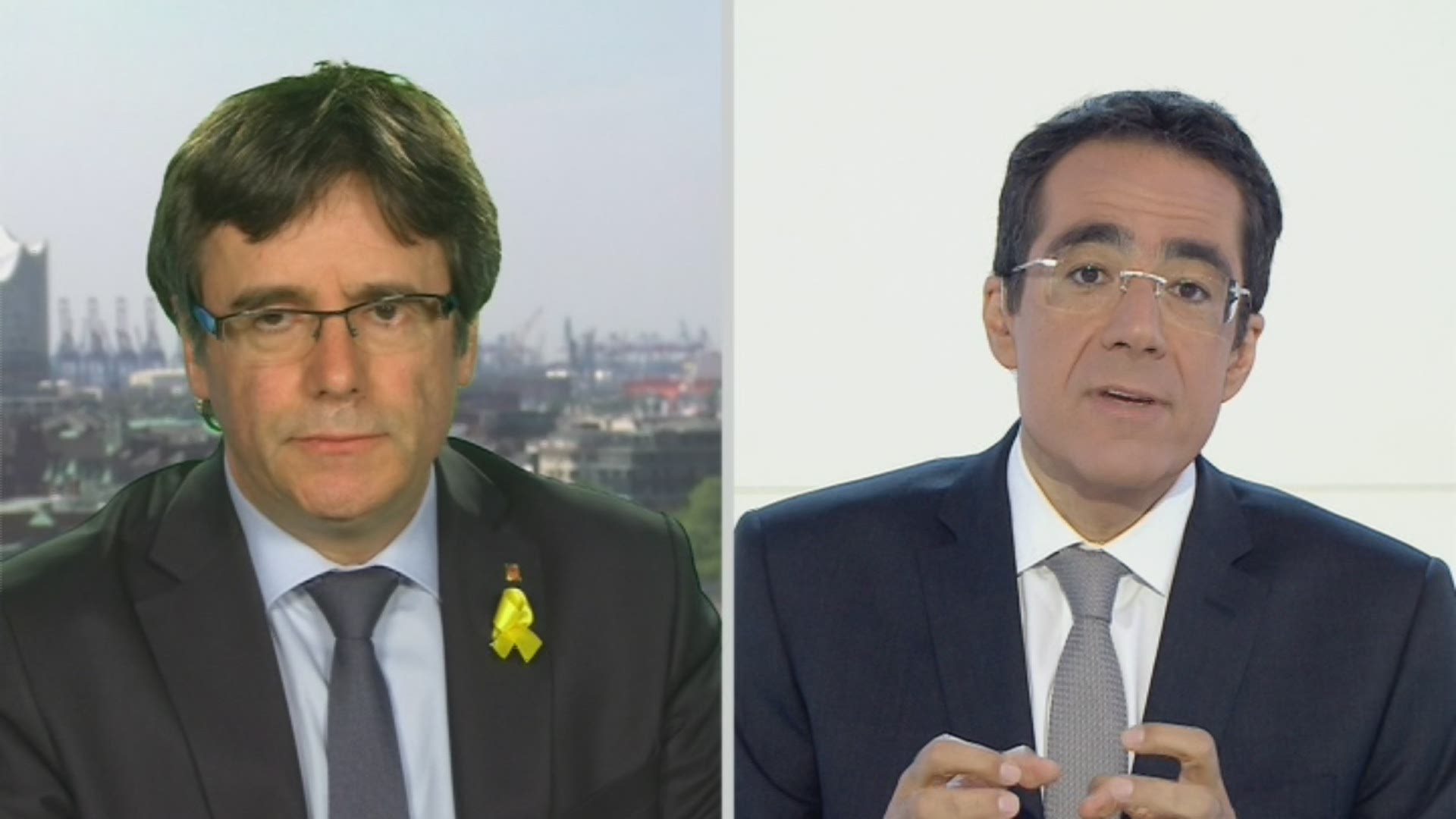 La version longue de l'interview de l'indépendantiste Carles Puigdemont