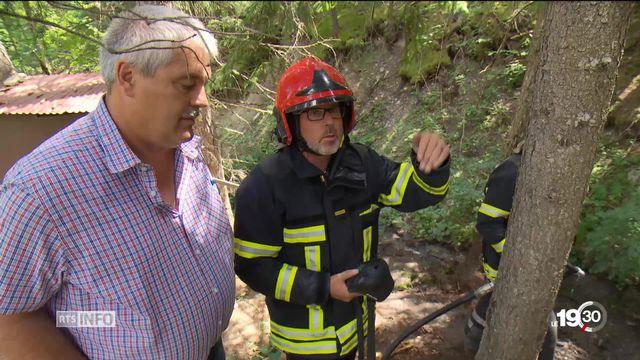 Sécheresse en Valais: interdiction totale de faire du feu en plein air. Les feux du 1er août sont menacés dans plusieurs régions [RTS]