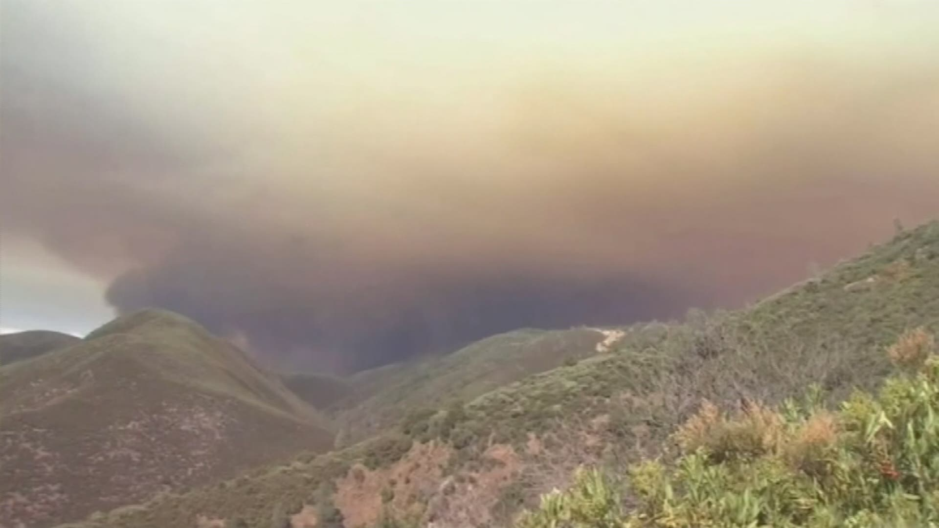 Un incendie menace le parc national de Yosemite en Californie
