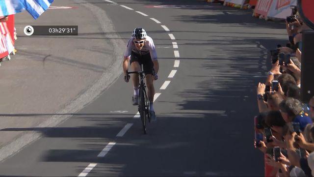 11e étape: Geraint Thomas (GBR) remporte l'étape et endosse le maillot jaune [RTS]