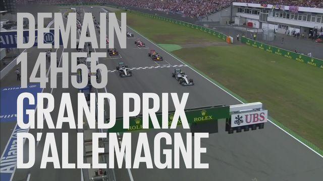 Bande-annonce: Automobilisme F1 Grand Prix d'Allemagne du 22.07.2018 [RTS]