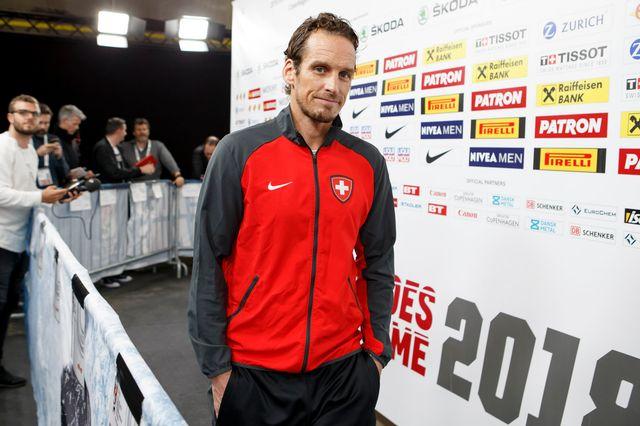 Patrick Fischer effectuera un tour d'horizon des espoirs suisses à Berne. [Salvatore Di Nolfi - Keystone]