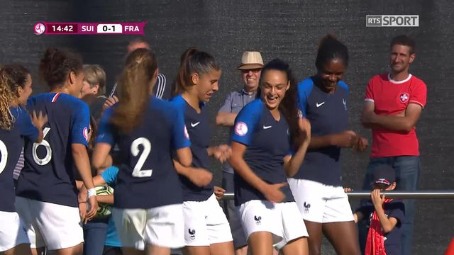 Gr.A, Suisse - France 0-1: penalty transformé par Boussaha [RTS]