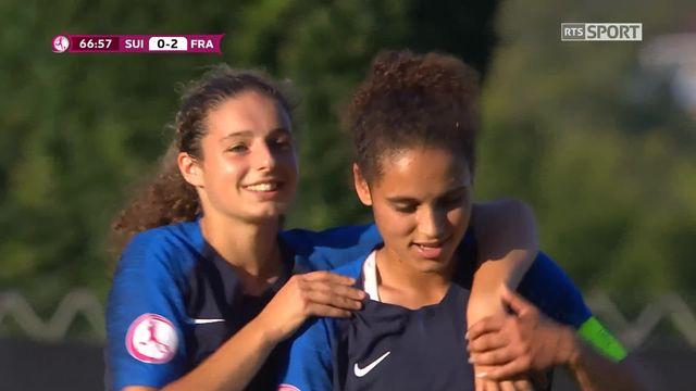 Gr.A, Suisse - France 0-2: Palis aggrave le score d'une belle frappe [RTS]