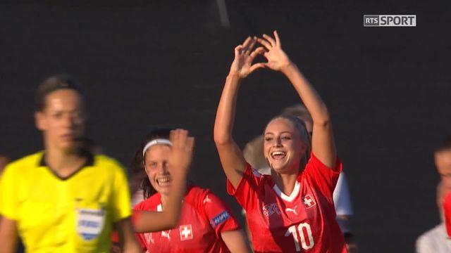 Gr.A, Suisse - France 2-2: les Suissesses reviennent au score! [RTS]