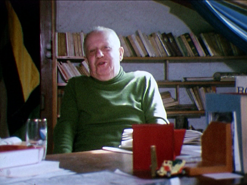 Le chansonnier Gilles en 1973. [RTS]