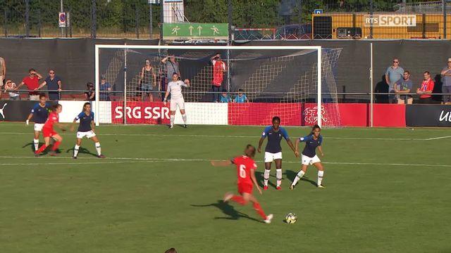 Gr.A, Suisse - France 1-2: réduction de la marque pour la Suisse! [RTS]