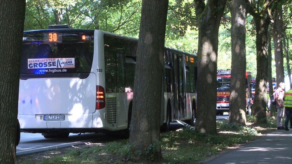 Plusieurs personnes ont été agressées à bord d'un bus dans la ville de Lübeck. [TNN/dpa - Keystone]