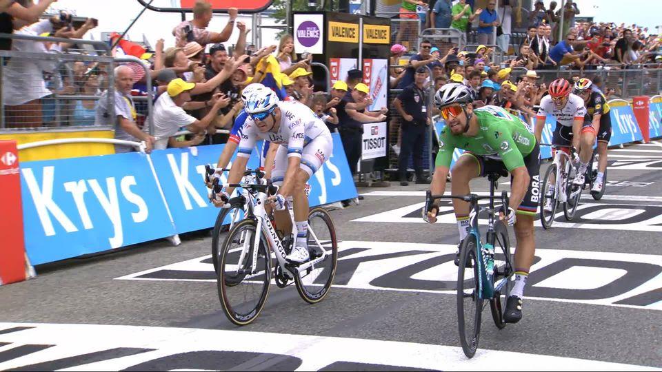 13e étape: troisième victoire pour Sagan (SVK) qui s'impose devant Kristoff (NOR) et Demare (FRA) [RTS]