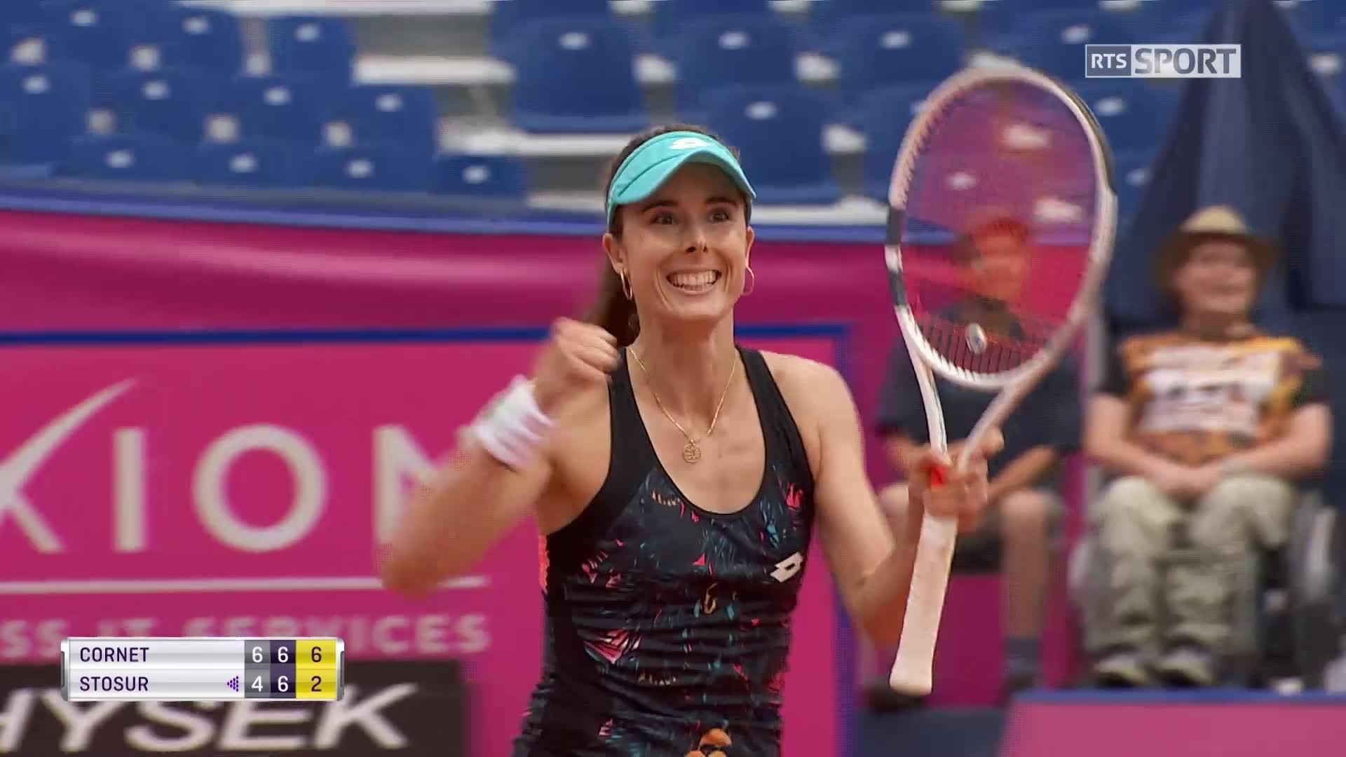 WTA - Gstaad : Cornet en finale après l'abandon de Bouchard