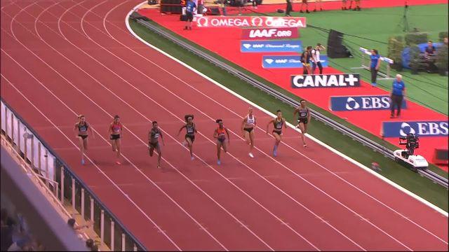 100m dames: Mujinga Kambundji (SUI) 6ème, Marie-Josée Ta Lou (CIV) s'impose [RTS]