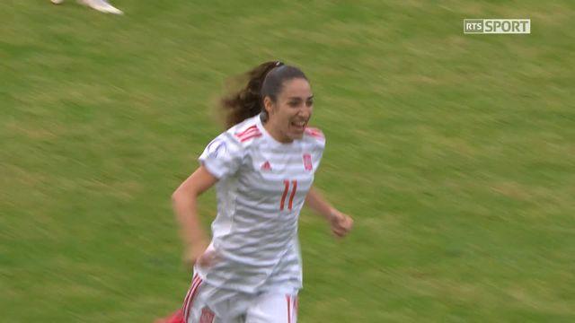Gr.A, Suisse – Espagne (0-1): 29e, ouverture du score de Carmona [RTS]