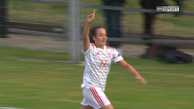 Gr.A, Suisse – Espagne (0-2): 60e, Marquez Baena inscrit le second but espagnol [RTS]