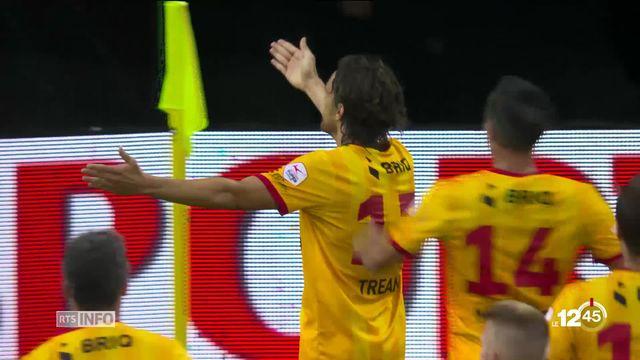 Les Neuchâtelois de Xamax se sont imposés 2 à 0 hier à Lucerne pour leur retour en Super League [RTS]