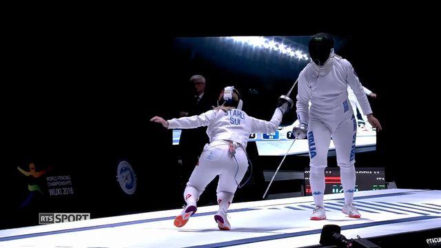 Escrime: la Bâloise Stähli remporte le bronze mondial [RTS]