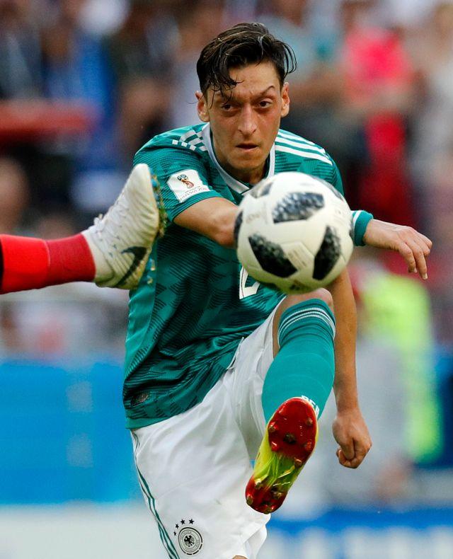 Le joueur allemand d'origine turque Mesut Özil. [Robert Ghement - EPA/Keystone]