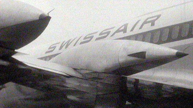 Swissair, compagnie aérienne suisse [RTS]