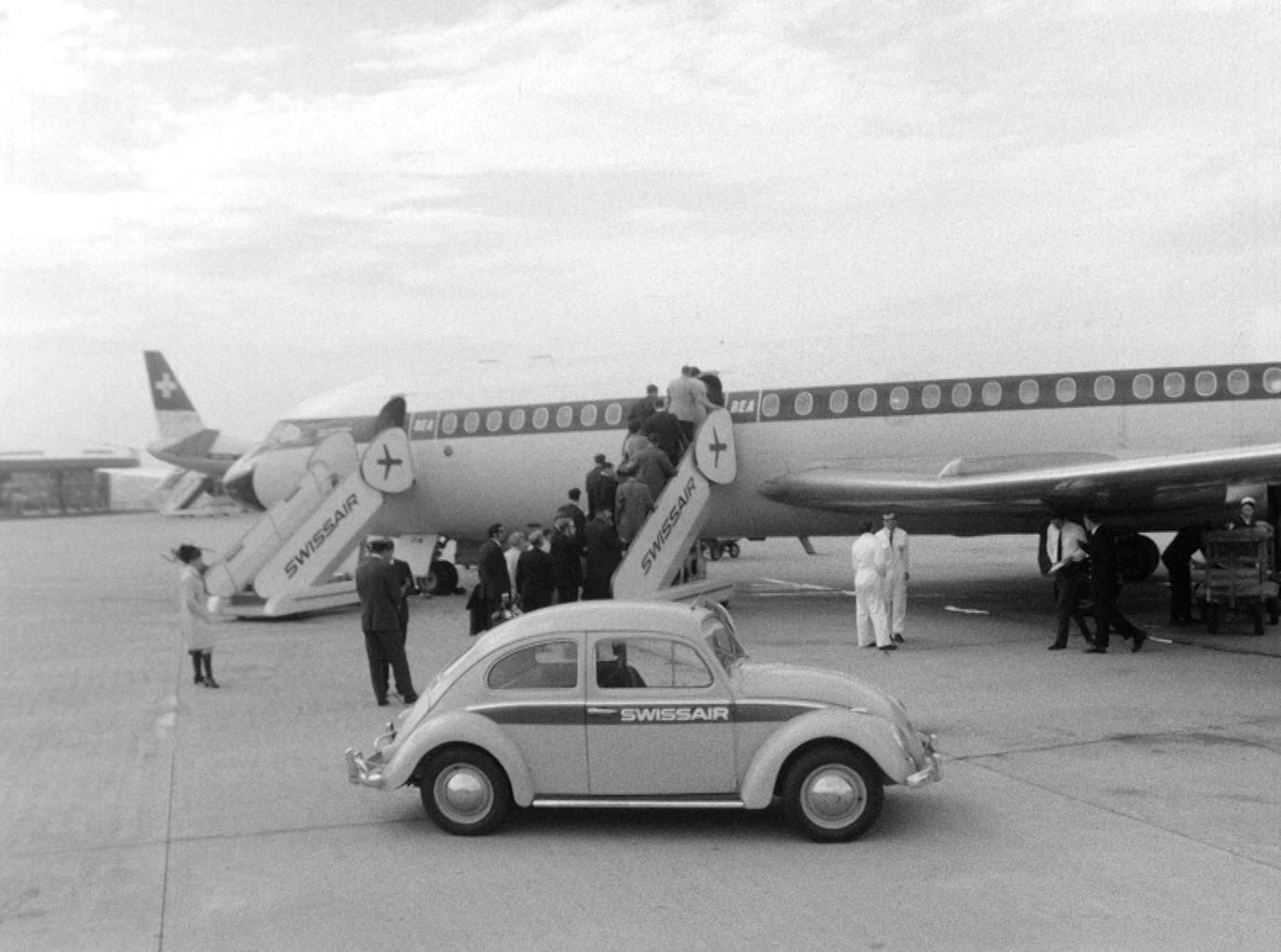 Voler avec Swissair