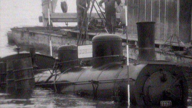 Une locomotive à vapeur sous l'eau est-elle bien utile? [RTS]