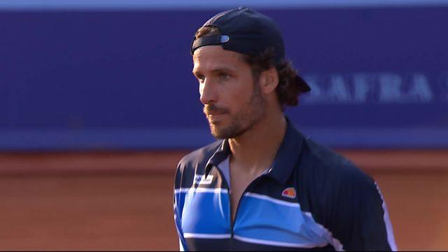 1-8e, O. Roca (ESP) - F.Lopez (ESP) (6-4,6-7,4-6): Feliciano Lopez se qualifie pour les quarts en 3 sets [RTS]