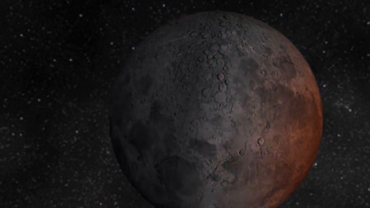 Une pleine lune qui devient lune rousse avant de redevenir pleine lune: c'est, en résumé, le phénomène qui se produira dans le ciel vendredi soir. [AFP]