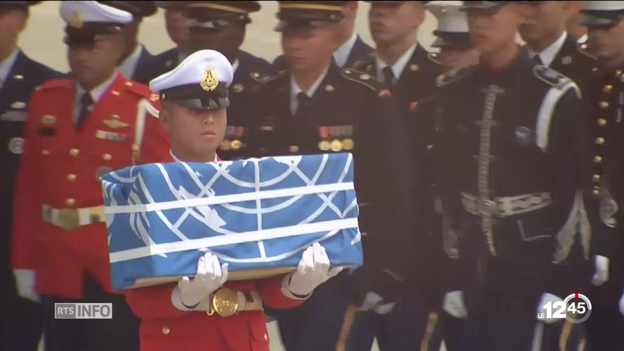 Corée du Nord: restitution des dépouilles de militaires américains [RTS]