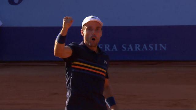 1-4 de finale, T. Daniel (JPN) battu par R. Bautista Agut (ESP): 5-7, 1-6 [RTS]
