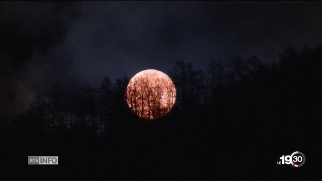 Eclipse lunaire: conseils pour observer au mieux le spectacle d'une heure et 43 minutes [RTS]
