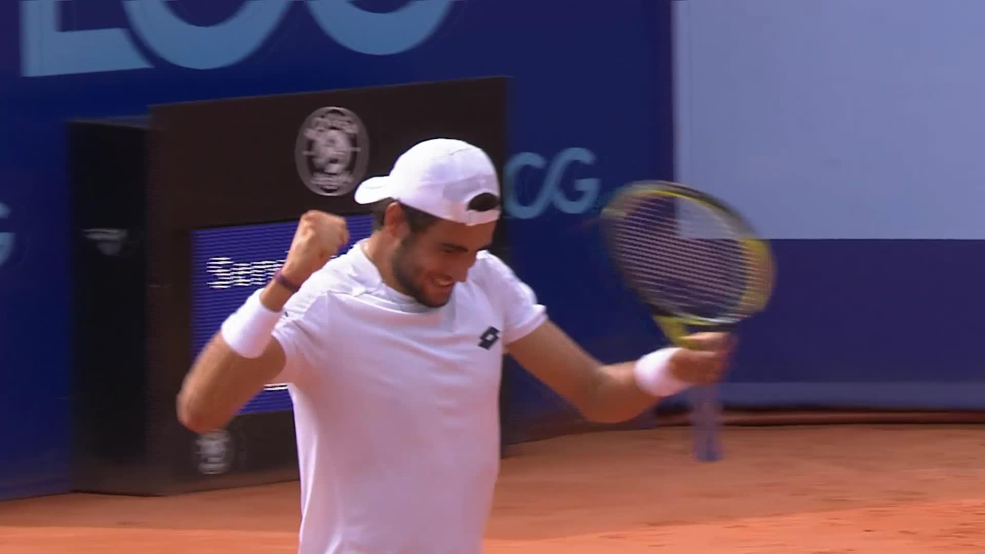 Matteo Berrettini remporte son premier titre — Gstaad