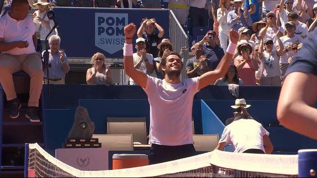 Finale, M. Berrettini (ITA) - R. Bautista (ESP) 7-6 6-4: l'Italien remporte son premier titre à 22 ans [RTS]