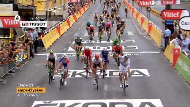 21e étape: victoire d'Alexander Kristoff (NOR) au sprint final [RTS]
