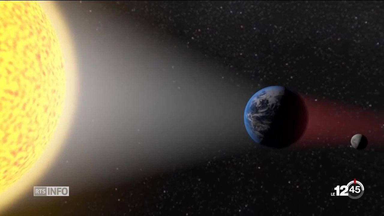 L'éclipse lunaire a été spectaculaire [RTS]