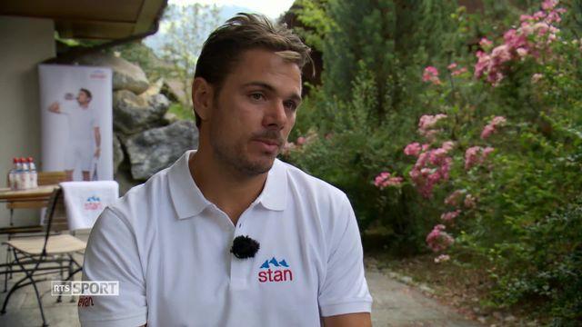 Tennis: les confidences de Stan Wawrinka [RTS]