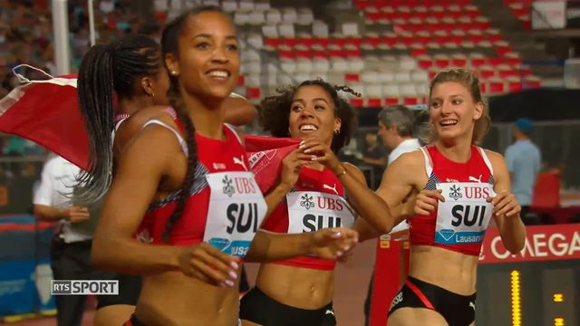 Athlétisme: le bel état de forme des leaders de l'équipe de Suisse d'athlétisme [RTS]
