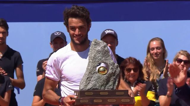 Tennis, ATP Gstaad: la victoire de Matteo Berrettini [RTS]