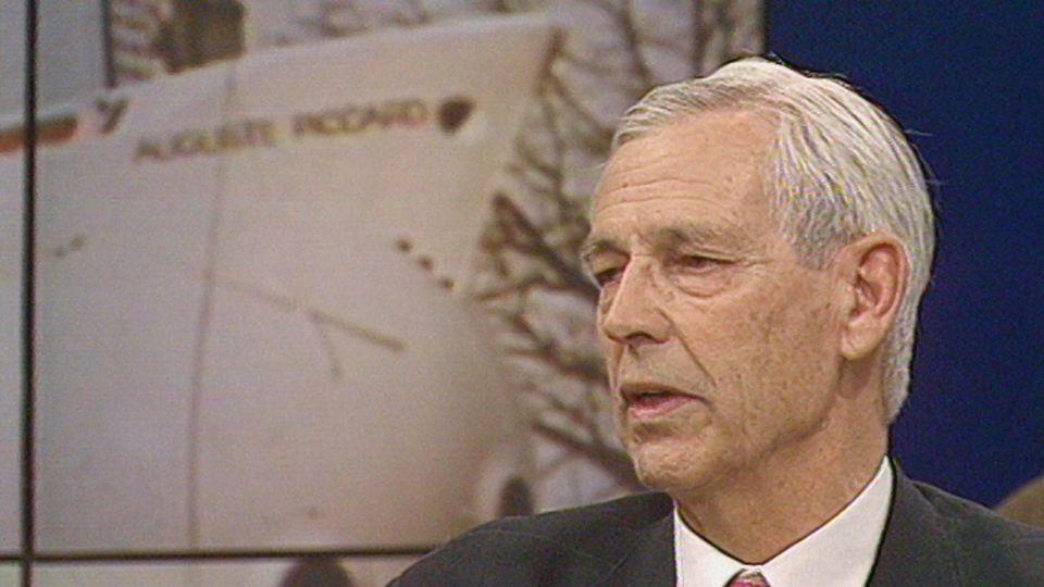 Jacques Piccard revient sur la brouille avec la direction de l'Expo 64. [RTS]