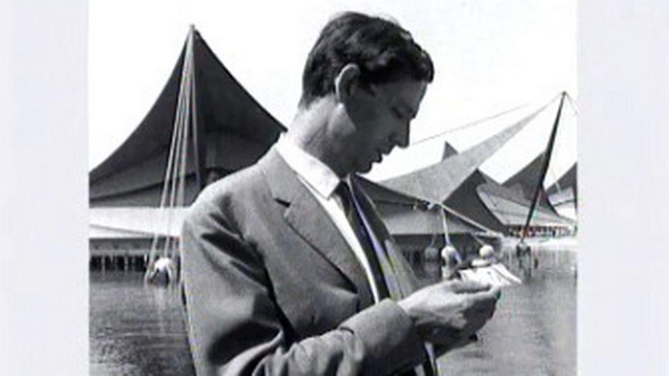Jacques Piccard évoque sa visite inattendue à l'Expo 64. [RTS]