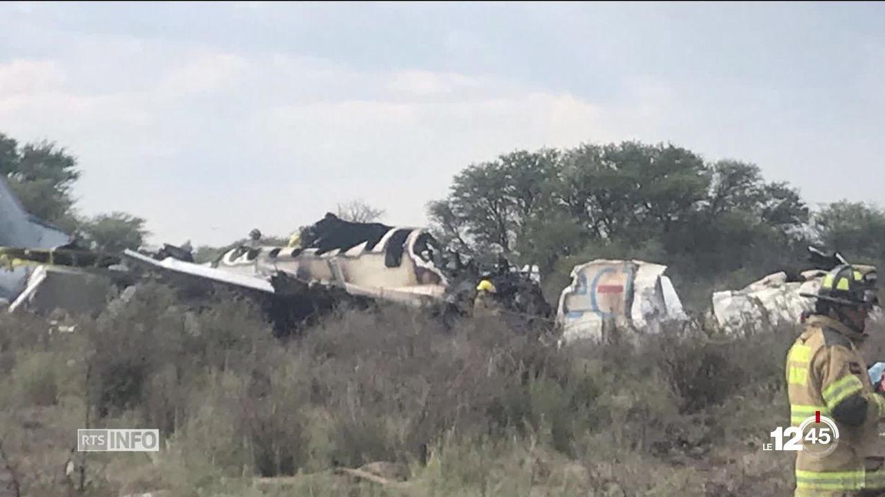 Crash aérien au Mexique: les 103 passagers transportés par Aeromexico sont sains et saufs [RTS]