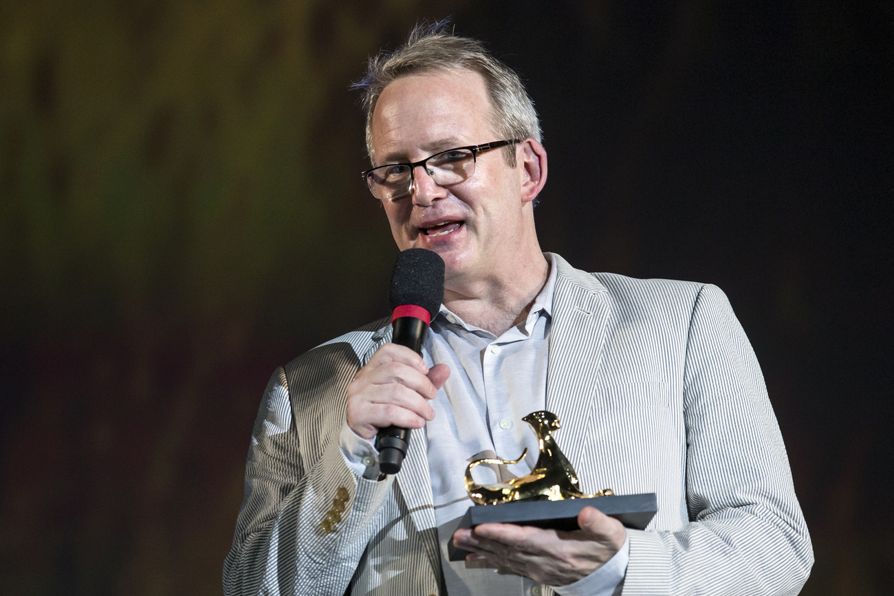 Le producteur Ted Hope à Locarno, 02.08.2018.