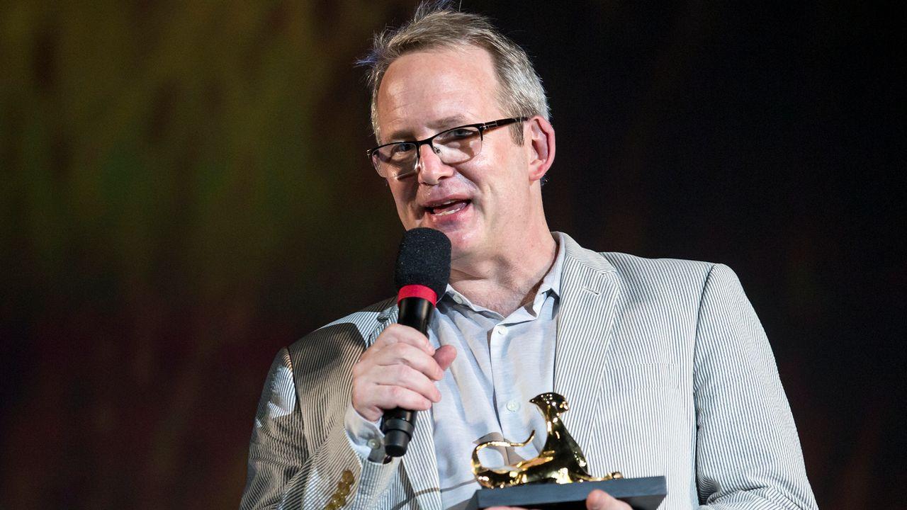 Le producteur Ted Hope à Locarno, 02.08.2018. [Alexandra Wey - Keystone]