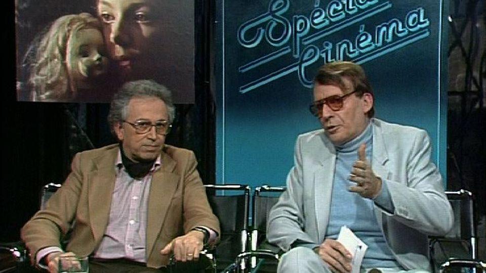 Christian Defaye (à droite) et Jean-Jacques Lagrange en 1982. [RTS]