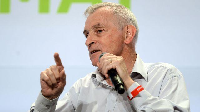 Le climatologue et glaciologue Jean Jouzel. [Jean-Pierre Müller - AFP]