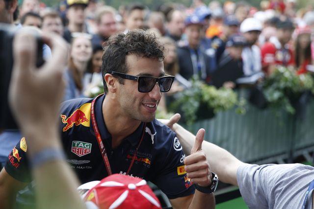 Daniel Ricciardo a remporté 7 victoires en Grand Prix avec Red Bull. [Erwin Scheriau - Keystone]