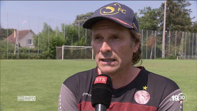 En football, la reprise du championnat de Suisse sourit au Servette FC. Il compte sur Alain Geiger pour retrouver l'élite. [RTS]
