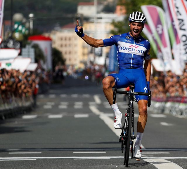 Alaphilippe a poursuivi sur sa bonne lancée du Tour de France. [Javier Etxezarreta - Keystone]