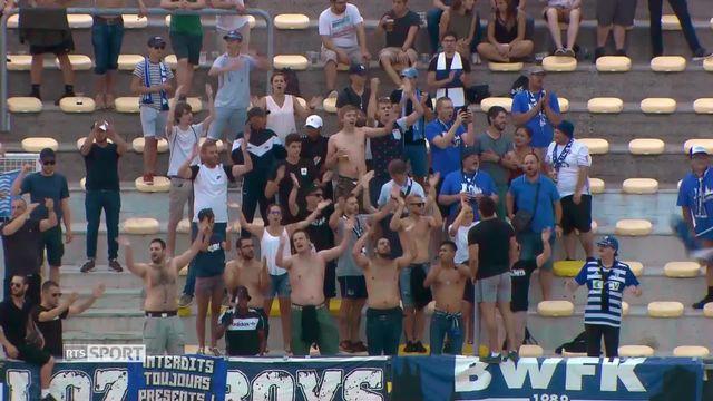 Football: Lausanne - Chiasso [RTS]